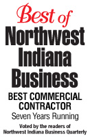 Best of Northwest Indiana Business, Best Commercial Contractor Seven Years Running